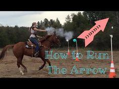 equestrian female shooting Cowgirl Runnin' /& Gunnin' Mounted Shooter Sticker