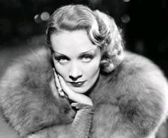 The Marlene Dietrich, 30s hair, can be done as hair down style or an updo for longer hair.