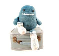 Sammie the Sock Monster by Rebecca Danger. Adorable!