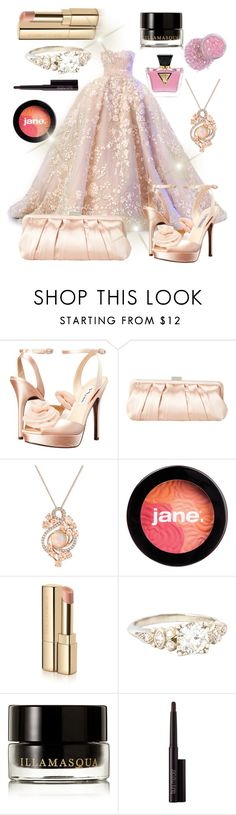 """Untitled #339"" by samarjawaid ❤ liked on Polyvore featuring Elie Saab, Nina, LE VIAN, jane, Dolce&Gabbana, Illamasqua, Laura Mercier and GUESS"