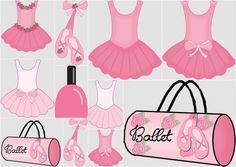 Clipart de Ballet. | Ideas y material gratis para fiestas y celebraciones Oh My Fiesta!