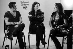 Hollywood Vampires Johnny Depp, Alice Cooper, Joe Perry