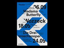 Creative Posters, Bureau, Collective, Theater, and St image ideas & inspiration on Designspiration Typography Images, Creative Typography, Creative Posters, Typography Poster, Poster Layout, Poster Ads, Print Layout, Alban Berg, Leaflet Layout