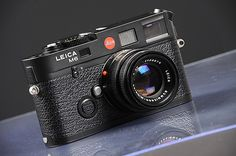 Leica M6 all black...my dream camera