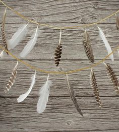Feather Party Garland