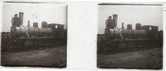 Locomotora 54 construida por Schneider y Cía. de Francia en 1884, propiedad de Hume Hermanos. Fue comprada al Ferrocarril Oeste para las obras de duplicación de la vía a Rosario. Colección Hume Hermanos.