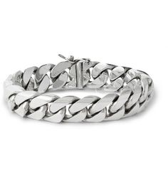 Foundwell Sterling Silver Chain Bracelet | MR PORTER