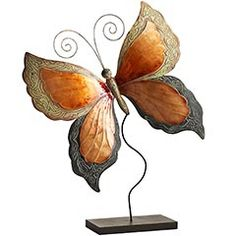 This is probably one of my favorite decorations in my home. I love butterflies. The color matches perfect with my accent wall.