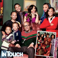 Rapper T.I. Family Photo Shoot: We're The Hip-Hop Huxtables! Love this family!