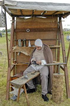 pop up camper medieval