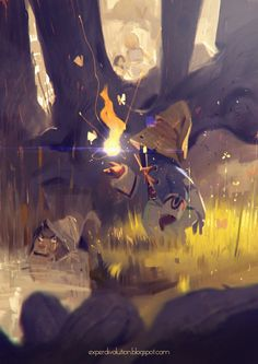 Final fantasy IX quick fanart by Zedig.deviantart.com on @deviantART