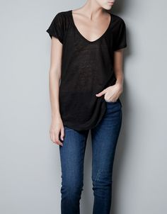 T-shirts - Woman - ZARA United States