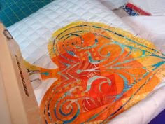 13 Spools: Reverse Applique How-To