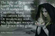 The Light of Protection Wicca Wiccan Witch, Magick Spells, Wicca Witchcraft, Witch Rituals, Real Spells, Healing Spells, Death Metal, Mantra, Motto