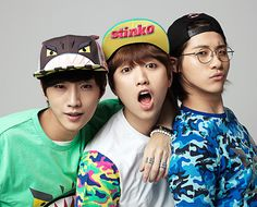 Jin Young, Sandeul, CNU - Hats On