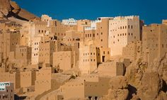 Ethical architecture ... developments at Wadi Daw'an. Mud brick houses