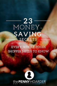 Love Whole Foods -- but hate how much you end up spending? We rounded up 23 insider tips for saving money on all your favorite organic groceries. - The Penny Hoarder http://www.thepennyhoarder.com/how-to-save-money-at-whole-foods/