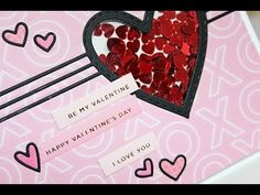 Nichol Spohr Magouirk: Simon Says Stamp February Card Kit | Valentine's Shaker Card