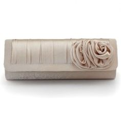 Cheap Clutches for Women, Cute Prom & Evening Clutches & Purses Best Handbags, Fashion Handbags, Purses And Handbags, Bride Flowers, Elegant Flowers, Bridal Handbags, Clutches For Women, Wedding Bag, Satin