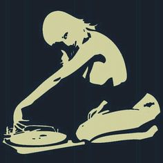 Girls with vinyl records. #djculture http://www.pinterest.com/TheHitman14/dj-culture-vinyl-fantasy/