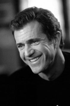 Mel Gibson.  Genius can weigh heavily some times.  Smiles are forever.