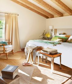 〚 Wonderful home for big family in Spain 〛 ◾ Photos ◾Ideas◾ Design Big Family, Animal Print Rug, Living Spaces, Curtains, Table, Design, Bedrooms, Inspiration, Furniture