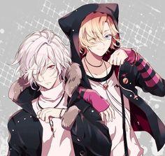 Diabolik Lovers (More Blood)- Subaru and Kou #Anime #Game #Otome