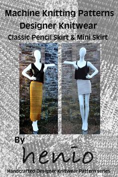 Pencil & Mini Skirts Knitting Patterns