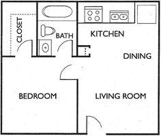 20 x 20 floor plans - Google Search