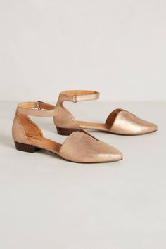 Lucy Cutout D'Orsays - anthropologie.com *rose gold
