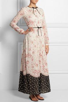 Nice way to lengthen a dress.
