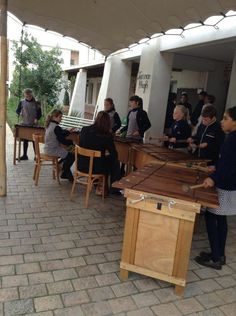 The Senior Primary Marimbas welcomed the finalists for the Hong Kong and Bulgaria Maths competitions at the high school as they arrived for the farewell lunch in the Schoolyard Cafe. Math Competition, Bulgaria, Maths, Hong Kong, High School, Lunch, Music, Home Decor, Decoration Home