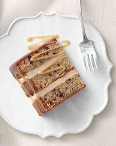 Toffee Temptation Cake by Wendy Kromer at Martha Stewart Weddings