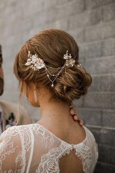 Lush Dusty Blue Wedding Inspiration with Macrame Decor #2019weddingtrends #bridalhairaccessories #blueweddingdresses
