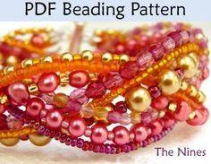 Beading Pattern for Bracelet Jewelry