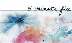 Announcing.....A NEW CLASS! 5 Minute Fix... I am thrilled to announce my brand new mini art journaling class, 5Minute Fix . ...