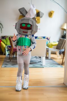 Nido magazine - wonderful ROBOT costume