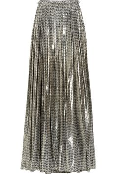 Lanvin Silk-Blen Maxi Skirt.  I <3 - but it is not in the budget or in my size!  But it's beautiful!
