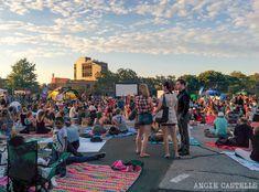 Cine al aire libre Nueva York McCarren Park-1
