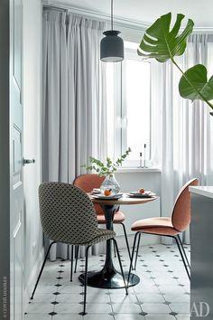 Квартира на северо-западе Москвы, 40 м² | AD Magazine