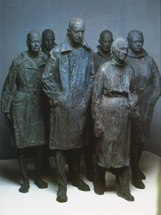George Segal sculpture - Google Search Line Sculpture, George Segal, Contemporary Sculpture, Postmodernism, Three Dimensional, Sculpting, Carving, Abstract, Figurative