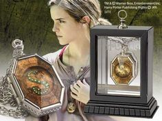 Harry Potter Horcrux Locket | Authentic prop replica as seen in Harry Potter and the Deathly Hallows. Collector display box included.- Geek Armory
