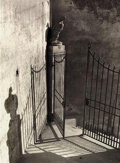 Vincenzo BalocchiPortal, Florence, Italy.c1950.
