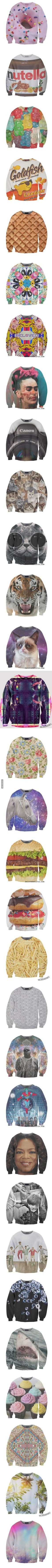 Ridiculously amazing sweatshirts that you can actually buy! I want the Oprah one lol