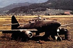 Downed, captured, ME 262's.