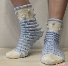 Crochet Socks, Knitting Socks, Knit Crochet, Slipper Socks, Slippers, Sock Toys, Knitwear Fashion, Boot Socks, Leg Warmers