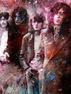 Led Zeppelin photo art