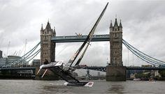 Catamaran in london bridge
