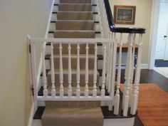 5 best thingsvalentines better than a baby gate carson co mirrored wainscoting more - Dog Gates For Stairs
