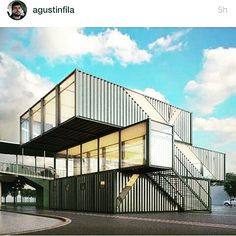 Shipping container office building Double Wide Casa Container containerhousebr Instagram Photos And Videos Shipping Container Buildingsshipping The Business Journals 505 Best Container Office Images In 2019 Container Houses